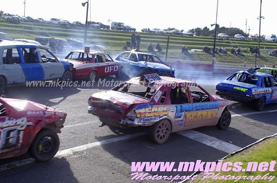 Unlimited Bangers, Hednesford 22 March 2015