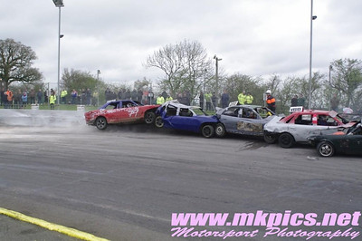 2014 Banger World Series & Caravan Ramp roll over