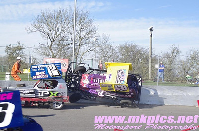 V8 Hot Stox, Northampton, 16 March 2014