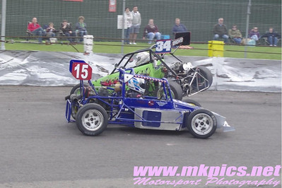 Grand Prix Midgets British Championship, Northampton, 21 April 2014