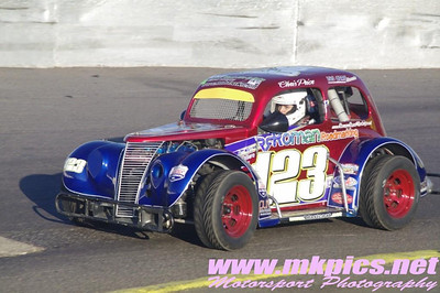 Oval Track Legends, Northampton, 16 March 2014